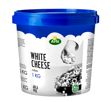 Arla PRO White Cheese σε κυβάκια 1kg