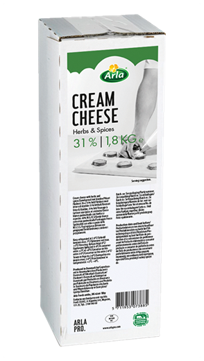 Arla PRO Cream Cheese Herbs & Spices 31% 1,8kg