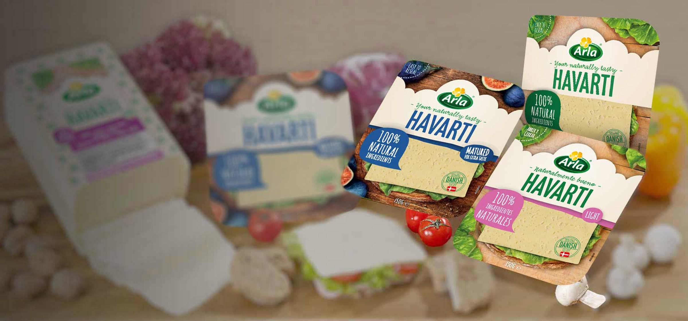 Arla Foods, Arla Havarti, Προϊόντα Arla
